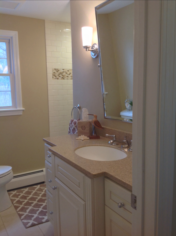 Bathroom remodel in simsbury ct barron jacobs for Bathroom design northampton